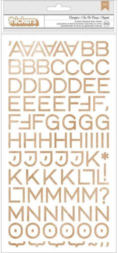 Thickers Campfire (Chipboard): Woodgrain Alphabet, Chipboard, American Crafts, Joanns Fabric And Crafts, Amazon Art, Sewing Stores, Creative Crafts, Wood Grain, Craft Stores