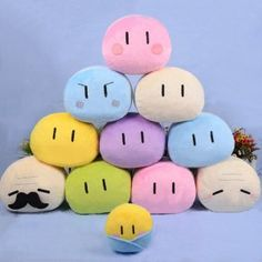 Clannad Dango Cuddle Pillow Plushie Shut Up And Take My Yen : Anime & Gaming Merchandise