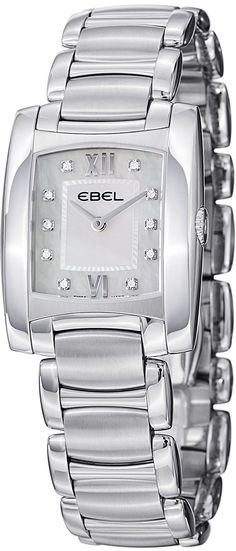 Ebel Brasilia Womens Mother of Pearl Diamond Watch 9256M32/98500 / 1215776 >>> Check this awesome image  (This is an amazon affiliate link. I may earn commission from it)
