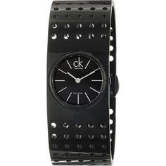 Montre Femme Calvin Klein - Grid  Bracelet Perforé En Acier - K8324302 - NEUF