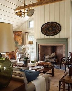the texture, the muted color palette, the overall comfy cozy feeling of this room