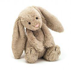 Bashful Beige Bunny Soft Toy
