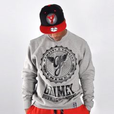 Grimey logo sweatshirt Ropa Hip Hop, Skate, Graphic Sweatshirt, Sweatshirts, Sweaters, Fashion, Slip On, Guys, Moda