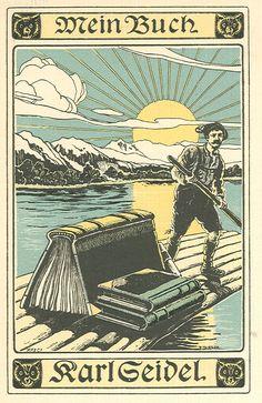 Cliché en couleurs , 1900 , ALLEMAGNE  Tersch (Fritz)