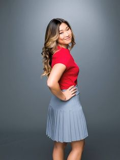 Jenna Ushkowitz as Tina Cohen-Chang in Glee Season 6