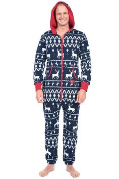 Tired of regular old pajamas  This Christmas themed jumpsuit is perfect for lazing  around in 145bd2dce