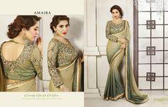 Amaira Designer saree Vol -2  Product Price:- Call Me Total Design:- 18 Fabrics:  Call @ 09724300380/ WhatsApp For inquire !!! Download This Full Cateloag