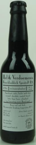 Wederom een mooie versie in de Hel & Verdoemenis reeks. Als je van SCHOTSE Whisky houdt, dan houd je van deze Hel & Verdoemenis!