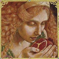 Greek Mythology - Persephone ate six pomegranate seeds while in the underworld, and was obliged to return there for six months out of every year.
