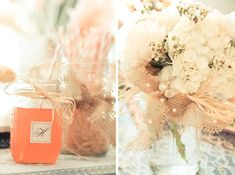 Charming Rustic + Shabby Chic Bridal Shower