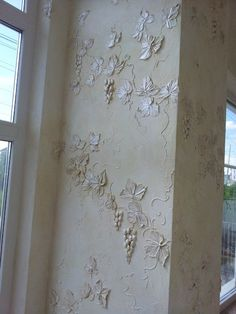 295 Best Plaster Stencilling And Design Images Plaster Art Wall