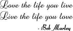 I love Bob Marley... seriously.