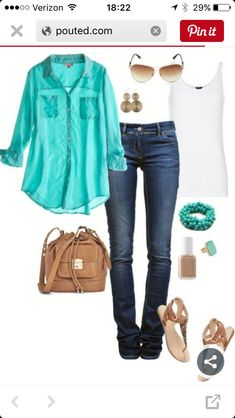 Stitch Fix stylist, I like the colors and the breeziness of this outfit.