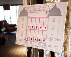 Barony Castle Table / Seating Plan Digital Download FIle - A1. £20.00, via Etsy.