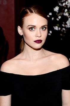 Holland Roden attends the alice + olivia by Stacey Bendet and Neiman Marcus present See-Now-Buy-Now Runway Show at NeueHouse Los Angeles on April 13, 2016 in Hollywood, California.