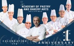 Coffee and Beyond: Academy of Pastry and Bakery Arts Philippines celebrates their first year Makati City, Pastry And Bakery, One Year Anniversary, First Year, Philippines, Student, Passion, Coffee, Celebrities