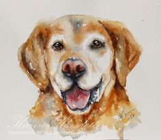 World watercolor month day 18 Furry Friends