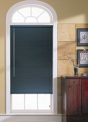 """1"""" Essentials 6 Gauge Aluminum Mini Blinds 36""""x60"""", Mini Blinds by M by M $68.00. M 1"""" Essentials 6 Gauge Aluminum Mini Blinds feature sleek, resilient slats at an attractive price. All components are color coordinated for a stylish, sleek look. These M mini blinds include break-away tassels to enhance child safety. Every mini blind is backed by a lifetime limited warranty."""