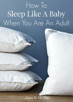 Parents are sleep-deprived, tired and exhausted. Moms everywhere need sleep. I share my best tips for adults to sleep like a baby. Great collaboration with Brentwood Home. Sleep tips, tricks and hacks. Insomnia Causes, Insomnia Remedies, Insomnia In Children, Need Sleep, Can't Sleep, Sleep Solutions, Pregnancy Pillow, Happy Pregnancy