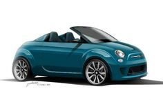 Fiat 500 Spider...2015! I want this one too!!