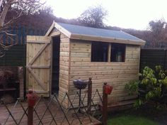 Apex shed delivered and installed by Solid Sheds Solid Sheds, Garden Sheds For Sale, Wooden Garden, This Is Us, Outdoor Structures, Home, Products, Ad Home