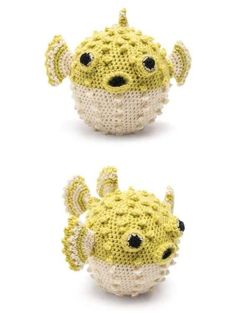 Free crochet pattern for a puff fish Crochet Amigurumi Free Patterns, Crochet Toys, Free Crochet, Crochet Christmas Ornaments, Cute Mouse, Little Pigs, Love Is Free, Crochet Cardigan, Crochet For Kids