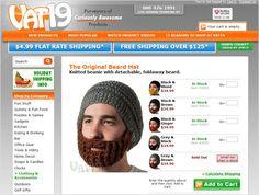 Beard hat! loool