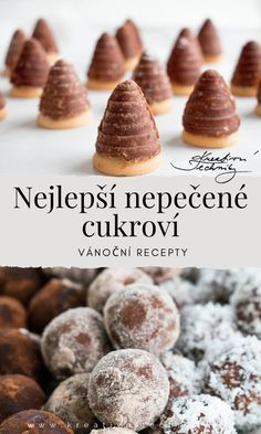 Czech Recipes, Churros, Christmas Baking, Cookie Recipes, Cereal, Food And Drink, Xmas, Sweets, Cookies