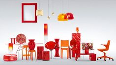 The icons of Kartell's historic plastic design