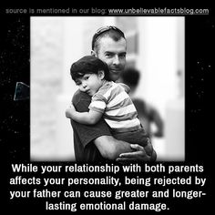 While your relationship with both parents affects your personality, being rejected by your father can cause greater and longer-lasting emotional damage. Absent Father Quotes, Father Daughter Quotes, Bad Parenting Quotes, Parenting Humor, Abandonment Quotes, Bad Father, Narcissist Father, Feeling Abandoned, Quotes Deep Feelings