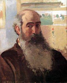 Camile Pisarro. Autorretrato.1873. (Impresionismo)