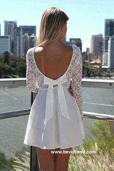 Gorgeous White Dress for an elegant look