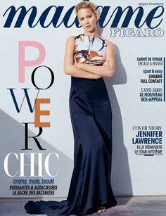 Jennifer Lawrence by Thomas Lohr for Madame Figaro France magazine