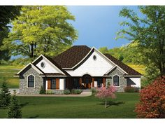 ePlans Ranch House Plan –2224 Square Feet and 4 Bedrooms from ePlans – House Plan Code HWEPL75816
