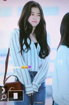 cute or not? Red Velvet Irene, Star Girl, Actor Model, Seulgi, Korean Actresses, Beautiful Soul, Womens Fashion, Pretty, Cute