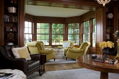 Lombardy - traditional - family room - dc metro - Neumann Lewis Buchanan Architects