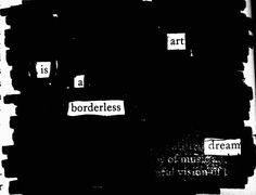 Without walls #newspaperblackout #blackoutpoetry #amwriting #poetry #newspaperpoem #newspaperpoetry #blackoutpoem #blackoutcommunity #writersofig #poetsofig #erasurepoetry #makeblackoutpoetry