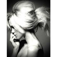 LOVE. when my hair gets long enough i can only hope it is that thick!