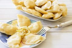 Best Potatoe And Roasted Garlic Pierogi Recipe on Pinterest
