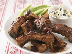 Slow Cooker Cranberry Ribs