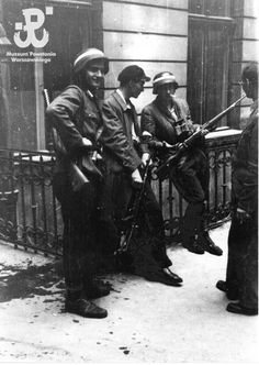 Poland Ww2, Warsaw Uprising, Sailors, World War Two, Soldiers, Past, Polish, Military, Photos