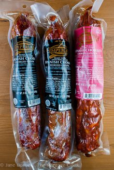 Our hot and mild chorizo is made from premium American pork meat, the world's best Spanish paprika and hand-selected spices.