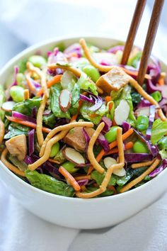 Chinese Chicken Salad - Damn Delicious