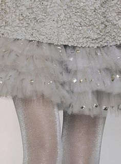 not really a fan of metallics, but it's Chanel, Karl L. can basically make anything look good.