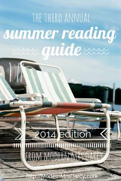 The Third Annual Summer Reading Guide, 2014 Edition. I've absolutely loved Anne Bogel's book suggestions in the past, so I'm sure this year's will be no different!
