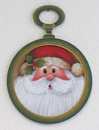 Image result for tole painting santa patterns