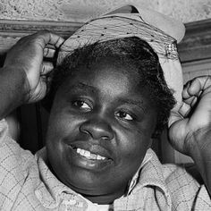 """Georgia Gilmore (February 5, 1920 - March 9, 1990) was a cook and midwife who supported the Montgomery Bus Boycott by raising hundreds of dollars a week through the """"Club From Nowhere"""" which sold sandwiches, chicken dinners, and baked goods to boycott supporters. Her home was often a meeting place for the Montgomery Improvement Association. #TodayInBlackHistory"""