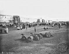 Antonio Cavilla Photographer: Casablanca, Procesión franciscana en las afueras de la ciudad.