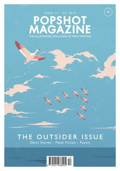 Great magazine for illustrators and flash fiction and poetry and short stories more at http://www.popshotpopshot.com