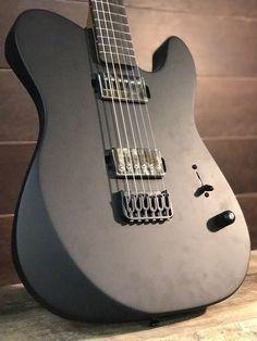 "LSL Instruments Baribone Baritone 27.5"" scale https://unleavenedshred.wordpress.com/2018/03/07/one-off-custom-guitars"